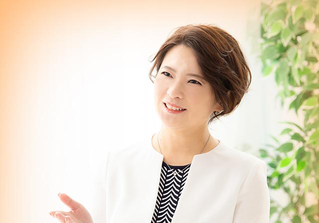 山中恵美子 代表取締役メッセージ